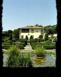 Villa Gamberaia - Tuscany, province of Florence