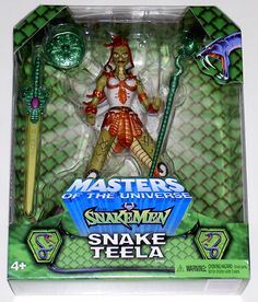 Snake Teela - Masters of the Universe ToyFare Exclusive 2003