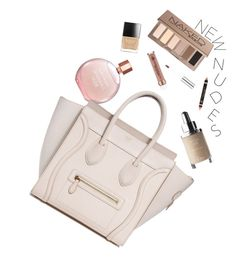 """Sensuous Nudes"" by hollowpoint-smile ❤ liked on Polyvore featuring beauty, Estée Lauder and Urban Decay"