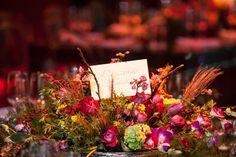Arranjo de flor - Decoração Vermelha