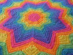 Afghans Round Ripple Crochet On Pinterest Ripple