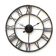 20 στυλ χώρα ρολόι τοίχου μέταλλο - EUR € 33.99