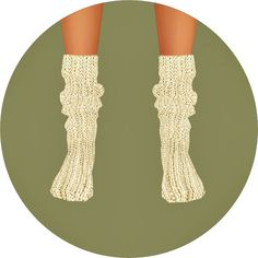 Knit loose socks at Marigold via Sims 4 Updates