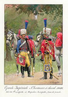 Garde Impériale - Chasseurs à cheval