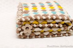 Entrelac Blanket Pattern Free Knitted Video Tutorial | The WHOot