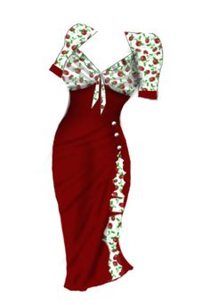 Rockabilly dress ...chicstar.com design contest..enter and win 1000 dollars if your design is choosen.  If you like this design, stop by and vote yes to see it made. Thanks oodles!