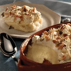 Layali Lubnan  or Lebanese Nights - a delicious dessert from Lebanon.