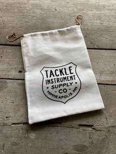 Cotton drawstring Ditty bag – TACKLE Instrument Supply Co. Cotton Drawstring Bags, Cotton Bag, Fasteners, Chrome Plating, Wool Felt, Solid Brass, Instruments, Reusable Tote Bags, Washers