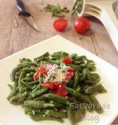 Spatzle - Gnocchetti tirolesi agli spinaci