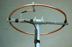 2 Meter Halo Antenna Project Background & Goals There are two previous versions of my loop antenna that were built before the antenna you see now. The