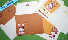 FREE Bunny Stationery {updated}