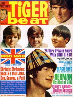 Tiger Beat - August, 1966