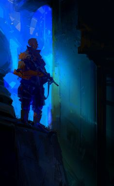 ArtStation - Commando , Sylvain Coutouly