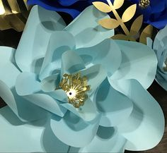 Giant paper flower templates step by step paper flower