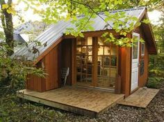 154 Teenager's Cottage Small house home tiny cottages / The Green Life <3