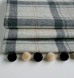 Winter Grey Tweed Roman Blind                                                                                                                                                                                 More