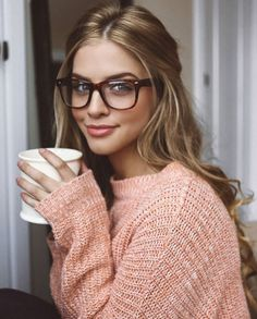 Image uploaded by *Magic*. Find images and videos about coffee, glasses and marina laswick on We Heart It - the app to get lost in what you love. Cute Glasses, New Glasses, Girls With Glasses, Belle Nana, Womens Glasses Frames, Marina Laswick, Fashion Eye Glasses, Coffee Girl, Wearing Glasses