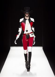 Moschino Fall/Winter 2012-2013 - jacket, top, skirt, bag