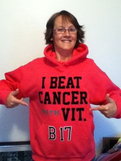 I BEAT CANCER WITH VITAMIN B17  Fascinating another story of someone who beat cancer with b17