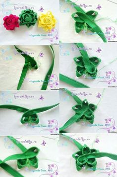 Zipper flower!!