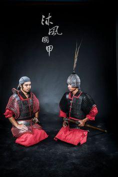 Han Dynasty warriors in lamellar armour. Armourer: 蒼凝君 of 沐風國甲/紅雲軒