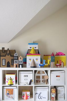 DIY toys and crafts storage