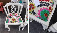 alter Stuhl streichen und das Polster austauschen                                                                                                                                                                                 Mehr