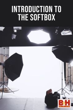 A softbox is an enclosure designed to fit around an artificial light source, such as a flash tube or halogen lamp. Its reflective interior intensifies the light output and projects it through its only means of escape—the front diffusion screen. This creates a quality of light long appreciated by photographers and videographers, which resembles the softer light one might find streaming through a window. Learn more about this important lighting tool here.
