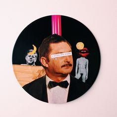 Neapolitan Songs | colagem sobre vinil por pedroluiss #art #collage #vinyl
