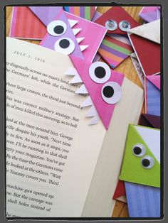 Tate's Kitchen: book page markers