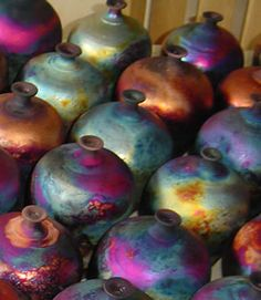 gorgeous Raku collection + colors