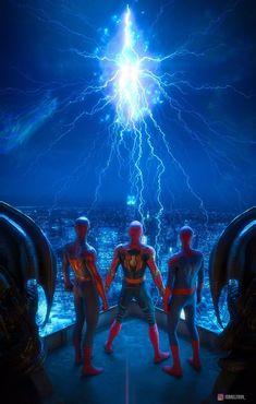 Superhero Bathroom, Marvel Studios Movies, Spiderman 3, Comic Books Art, Comic Art, Book Art, Marvel Comic Character, Spider Verse, Drarry