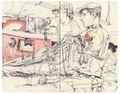 from James Jean's sketchbook