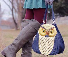 cute owl bag purses!!
