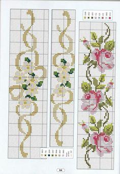 Cross-Stitch Towel Patterns