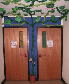 Jack and the Beanstalk display