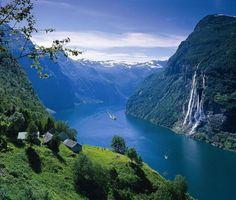Norway- seven sister falls