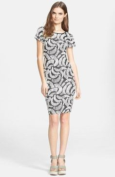 HUNTER BELL New York Addie Dress Jacuard Knit #HunterBellNewYork #StretchBodycon #Casual #fashion