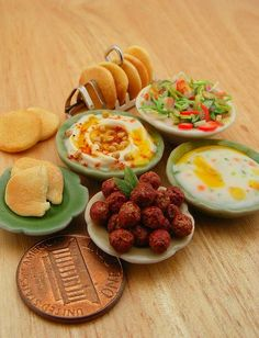 Miniature Food P*rn arabic