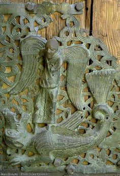 Verona - Basilica di S. Kunst Online, Archangel Michael, 12th Century, Verona, Venice, Bronze, San, Religious Art, Archangel