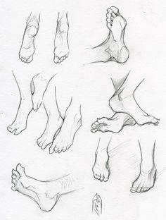 Feet Stock Practice 2 by Azizla.deviantart.com on @DeviantArt