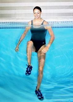 12 Powerful Swimming Pool Exercises for Fast Fat Burning from Entire Body