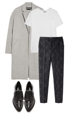 """b"" by berill ❤ liked on Polyvore featuring Rochas, Frame, Rebecca Minkoff and Kenzo"