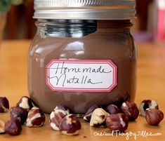 How To Make Your Own Homemade Nutella