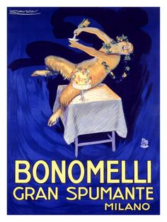 achille mauzan   Bonomelli Gran Spumante