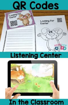 April QR Code stories for your listening center. Tech in the classroom is so fun for students. Let your students complete their Listen to reading option using these fun filled Easter themed stories.