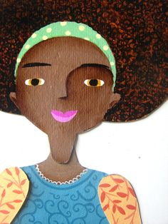 Paper doll magnetic game puppet. by LaCasuni on Etsy, $20.00  Wonderful gift for little girls!