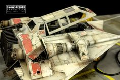 https://flic.kr/p/A44MKc | Bandai Snowspeeder | Incom T-47 Snowspeeder Bandai 1/48 Scale Model Build log www.britmodeller.com/forums/index.php?/topic/234989194-ba...