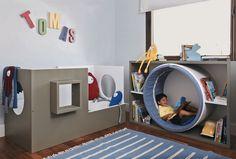 20 Fantastic Kids Playroom Design Ideas – My Life Spot Playroom Design, Playroom Decor, Playroom Furniture, Kids Furniture, Boys Playroom Ideas, Bedroom Furniture, Small Playroom, Furniture Plans, Reading Nook Kids