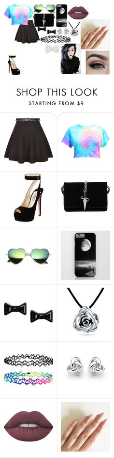 """""""1h5r3gvceqs"""" by annie-hall-barton ❤ liked on Polyvore featuring New Look, Prada, Cesare Paciotti, Marc by Marc Jacobs, Bling Jewelry, Accessorize, Georgini, Lime Crime and Decree"""